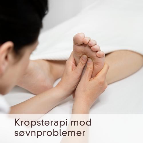 Kropsterapi mod søvnløshed og søvnproblemer