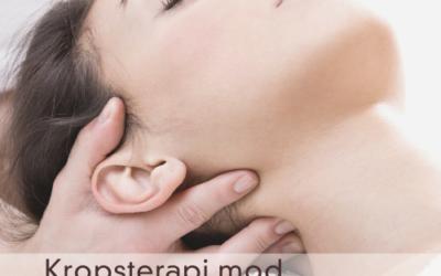 Kropsterapi mod spændinger og smerter i nakken